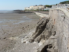 View to the old Birnbeck Pier ,  Weston Super Mare : June 16th 2010. (Lenton Sands) Tags: westonsupermare birnbeckpier