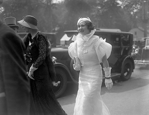 Royal Ascot in 1933; fashion, clothes, style, outfit, vintage, photo, 1910s, 1920s, 130s, 1940s, 1950s, 1960s