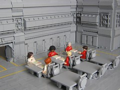 Mess Room (Legoloverman) Tags: lego scifi messroom
