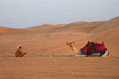 Men who stare at camels (mistermacrophotos) Tags: morning canon early sand dubai desert camel mk2 5d