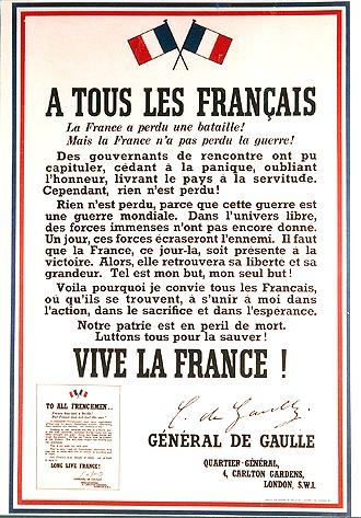 Affiche_appel 18 Juin 1940