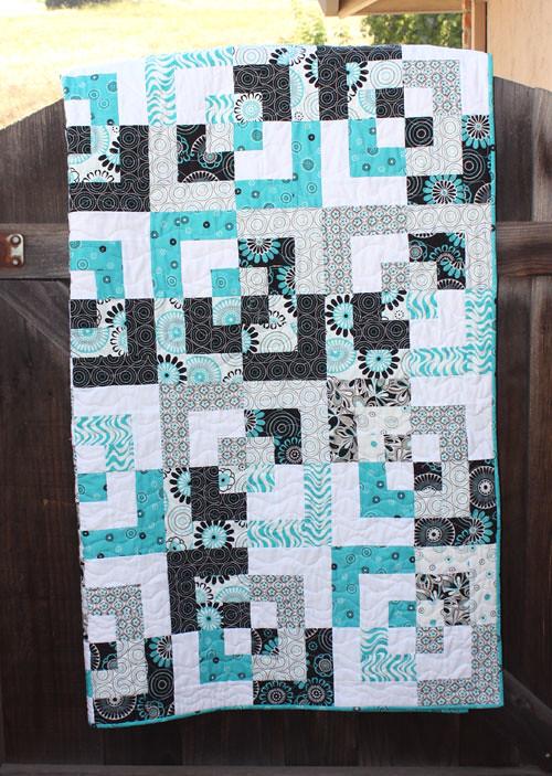 Erin's new quilt
