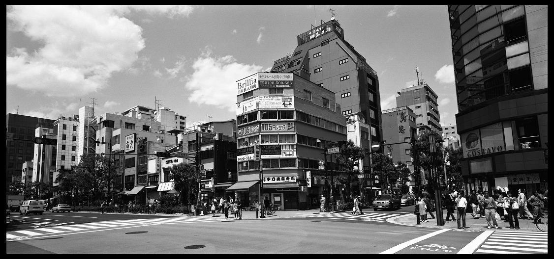 612寬幅 東京街景