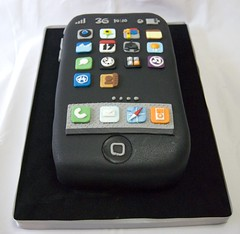 Iphone (Mariana Pugliese) Tags: nerd cake geek 4 3g feliz cumpleaños 3gs touchscreen apps 2g iphone aplicaciones 17dejunio 241543903 marianapugliese