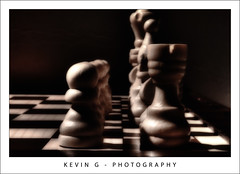 Two Rows of Mind Bending Decisions by K.G. Photos