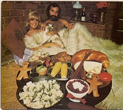 1970s Funky Breakfast (glen.h) Tags: food men vintage women beards 70s magazines 1970s seventies australianhomejournal