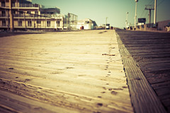 ~ the boardwalk.  [Explore] (CarolynsHope) Tags: wood texture seaside newjersey nikon d70 perspective shore boardwalk jerseyshore wormseyeview seasideheights carolynshope wormseyeviewsunday