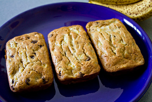 Banana Chocolate Chip Bread - 5