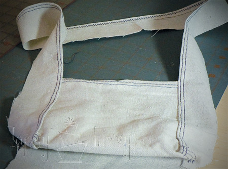 canvas satchel tutorial first half finished