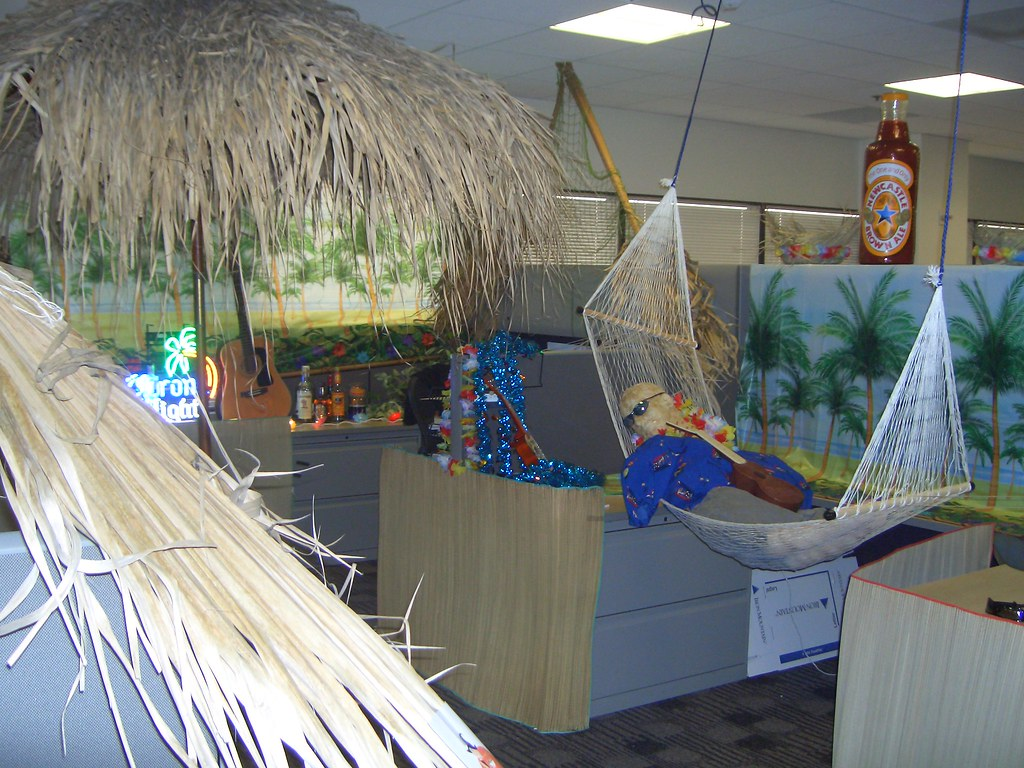 The world 39 s best photos of cubicle and decor flickr hive - Beach theme decorating ideas ...