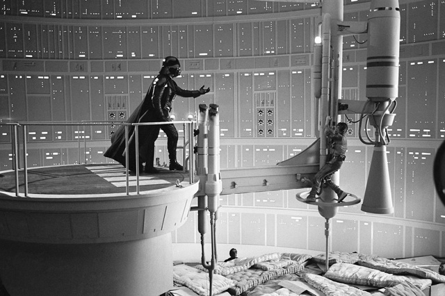 Empire Strikes Back Filming