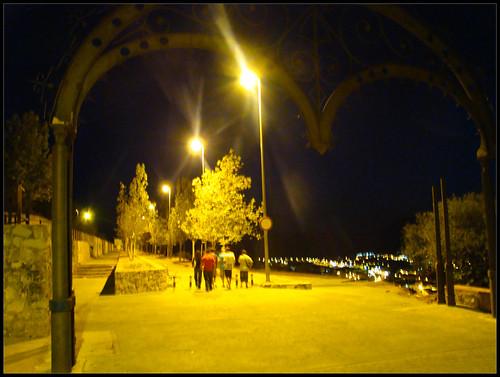 Arco de entrada al Paseo del Calvario