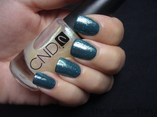 CND Urban Oasis  Teal Sparkle Night Factory The Look for Fall/Winter 2010