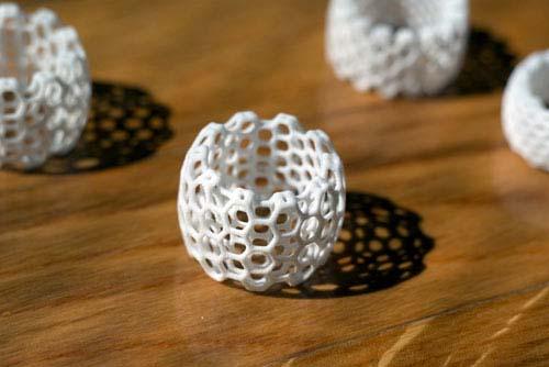 酷设计:基因结构戒指和手环