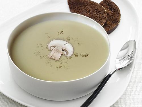 Vegetarian Mushroom Soup : ซุปเห็ดเจ