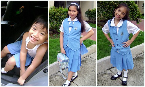 school kids, school uniform