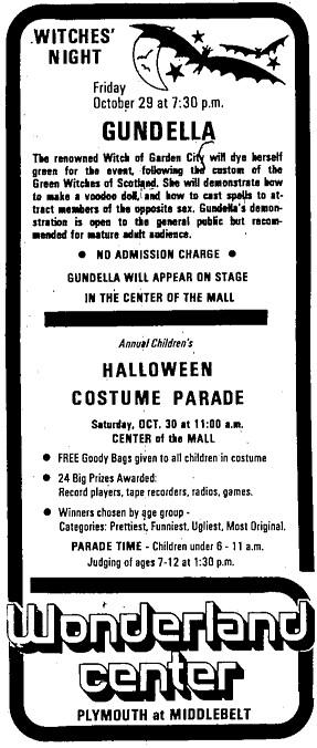 Gundella Advert for the Wonderland Mall