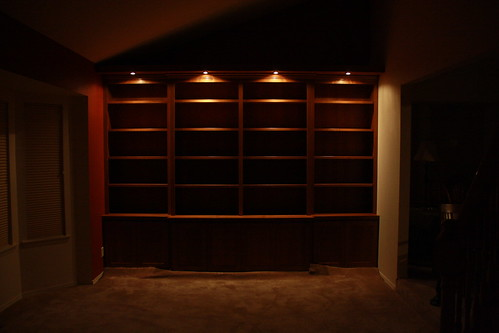 Bookshelves Day 3 Done No Flash