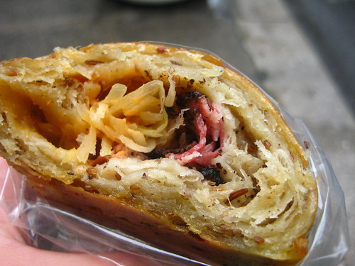 Inside the Pastrami & Rye Croissant