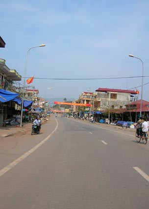 The main drag, Yen Chau, Vietnam