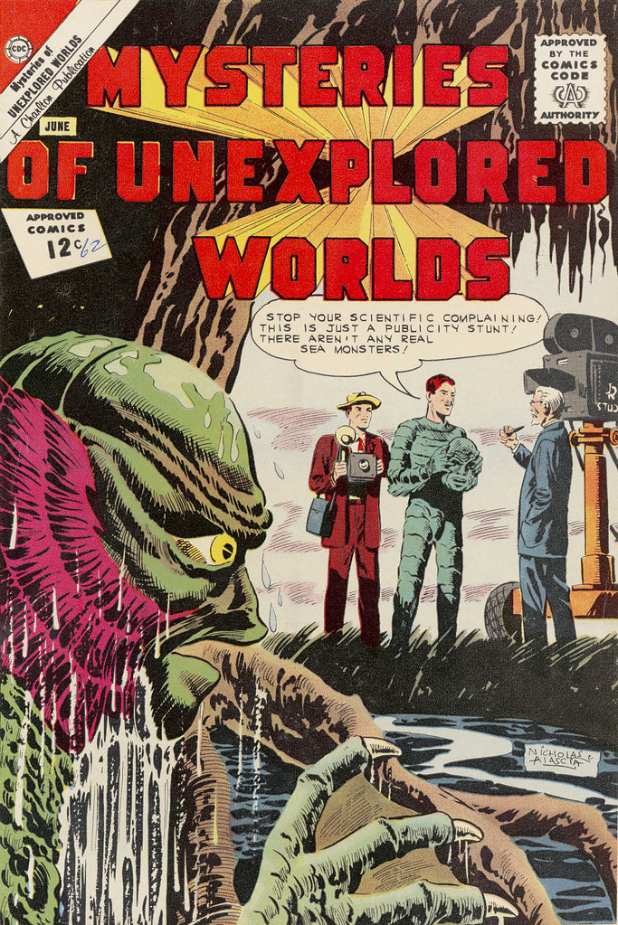 Mysteries of Unexplored Worlds #30 (Charlton, 1963)