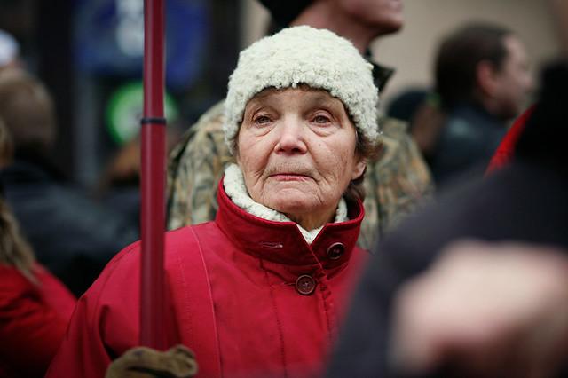"""""""Русский марш"""" в Новосибирске (04.11.2010)"""