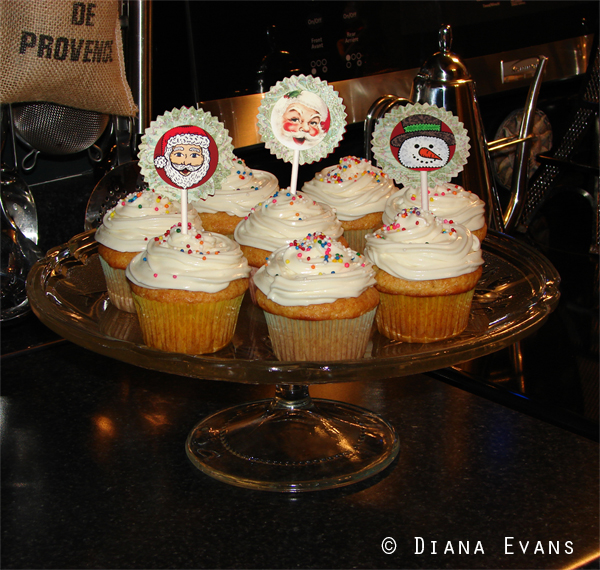 blog - cupcakes toppers