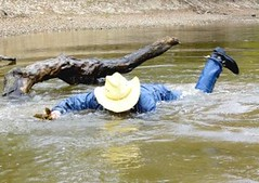 25 WS Canal swimming cowboy fully clothed best way (Wrangswet) Tags: swimming wranglers cowboyhat wrangler swimminginclothes riverhike swimmingfullyclothed wetjeans wetboots guysinwetjeans wetladz wetwranglers wetcowboy swimminginjeans wetcowboyboots wetwranglerjeans meninwetjeans swimminginboots