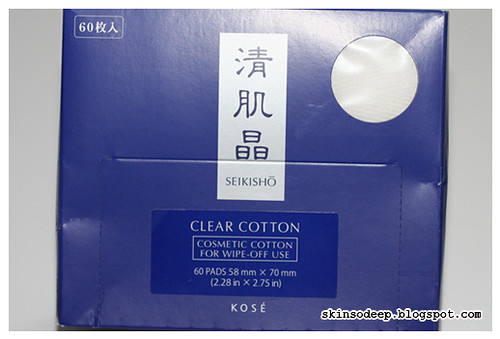 Kose Seikisho Clear Cotton