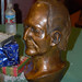 Bronze bust of President Rush presented to him at Christmas party