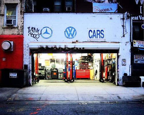 Garage on Great Jones
