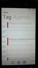 Windows Phone 7 Calendar