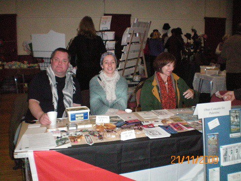 Oban Concern for Palestine Fair 2009