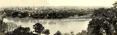 Dayton historical panorama
