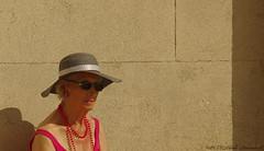 Portrait (Natali Antonovich) Tags: belgiancoast belgium belgie belgique seasideresort seashore seaside seaboard portrait reflection lifestyle hatisalwaysfashionable hat hats oostende