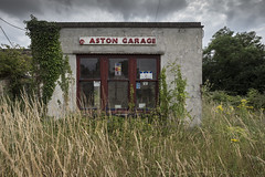 Out of gas (Matthew Hampshire) Tags: overgrown garage grass