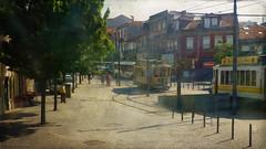 like home (*silviaON) Tags: city light trees tram porto portugal caminhoportuguês textured kerstinfrankart