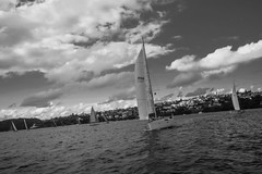 DSC00816 (Damir Govorcin Photography) Tags: boats water sea sydney harbour monochrome blackwhite wide angle natural light zeiss 1635mm sony a7rii sky clouds