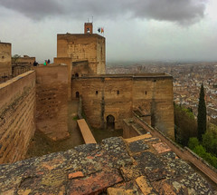 Alhambra Castle (Geoffrey Radcliffe /radcliffe.geoffrey@gmail.com) Tags: geoffrey radcliffe alhambra granada andalusia spain autopano lightroom5 world heritage tourist location