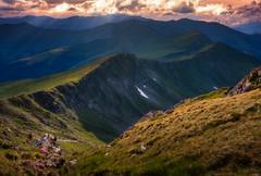 shower (Kozics Tibi) Tags: mountain transylvania clouds sunset rodnei landscape canoneos40d canon eos40d