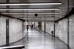 Passage (No_Mosquito) Tags: vienna austria city night lights underground karlsplatz urban people passage curve curvature modern futuristic canon powershot g7xmarkii cityscape tunnel