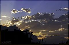 as day turns into night (zawaski) Tags: alberta beauty mtcascade canada naturallight noflash zawaski©2017 canmore rockymountains sunset love pink calgary ambientlight clouds canonefs55250mmf456isstm