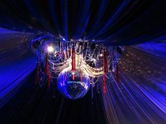 Jazzy light (Heather.H.) Tags: glastonbury festival mirrorball light tent