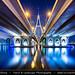 United Arab Emirates - UAE - Dubai - Ras Al Khor Bridge at Night
