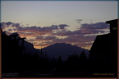 Cascade mountain, Banff national park (zawaski) Tags: alberta beauty mtcascade canada naturallight noflash zawaski©2017 canmore rockymountains sunset love pink calgary ambientlight clouds canonefs55250mmf456isstm