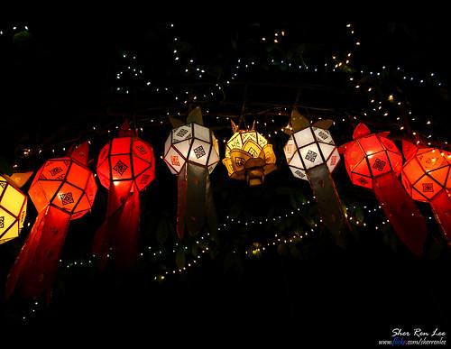 Lantern Festival Songkhla, Thailand