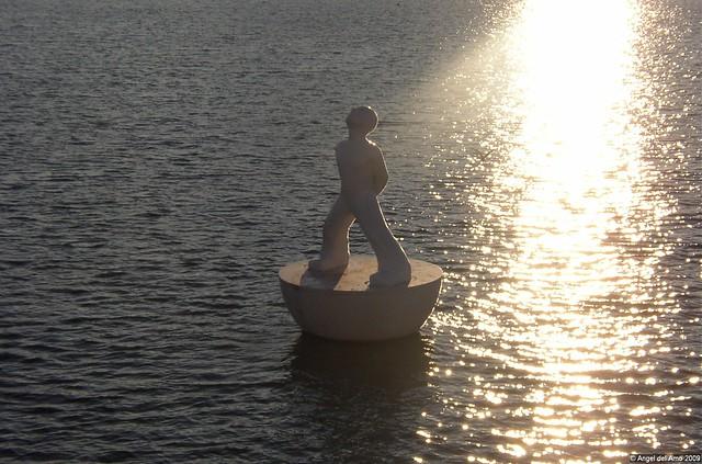Tomando el sol