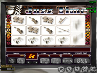 Jazz Time slot game online review