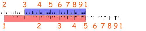 Scala Logaritmica 8
