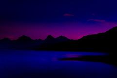 Lake McDonald - Sunset 1 (AroundTheNextBend) Tags: sunset mountains reflection nature landscape nationalpark glacier waterfalls wildflowers glaciernationalpark